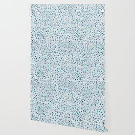 AFE Green Terrazzo Pattern Wallpaper