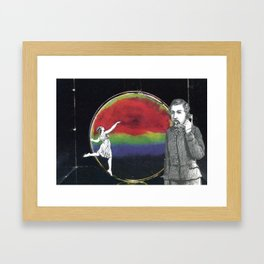 Aim High But Humble Your Mind Framed Art Print