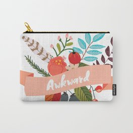Awkward - Urban Flowers Series Carry-All Pouch