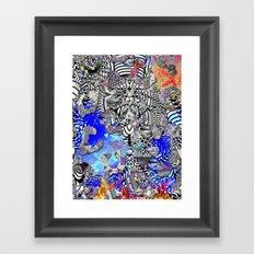Marinade Framed Art Print
