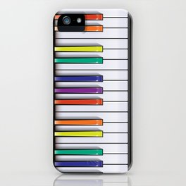 Colour Your Music iPhone Case