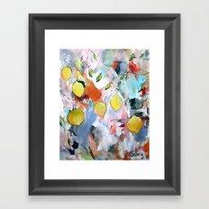 When Life Gives You Lemons, Paint Them Framed Art Print