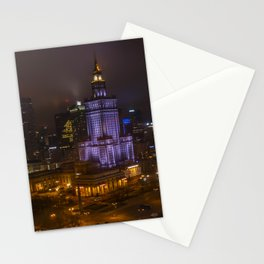 Warsaw on Christmas Stationery Cards