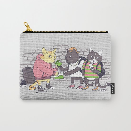 Meowy Wowy Carry-All Pouch