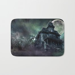 The Haunted House Bath Mat