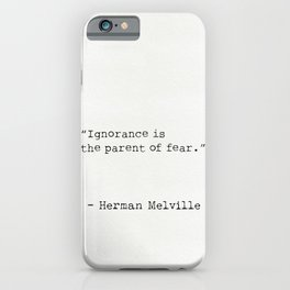 Herman Melville quote 5 iPhone Case