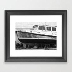 Dry Docked Framed Art Print