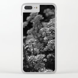 Edelweiss by Moonlight Clear iPhone Case