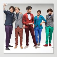 1d Canvas Prints featuring 1d by Max Jones