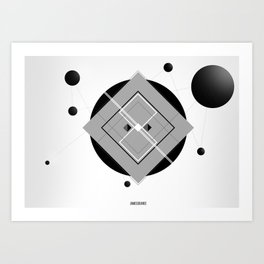 Interlink'in Art Print