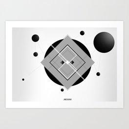 Interlink'in Art Print