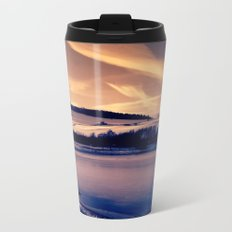 Seascape Metal Travel Mug