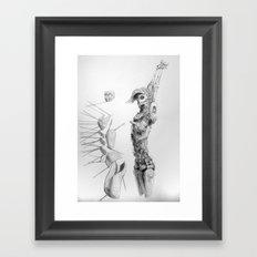 Automa V Framed Art Print
