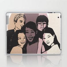 Imagine all the people.. Laptop & iPad Skin