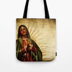 Pray For Us Sinners Tote Bag