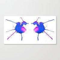 fairies Canvas Prints featuring Fairies by What do YOU see?