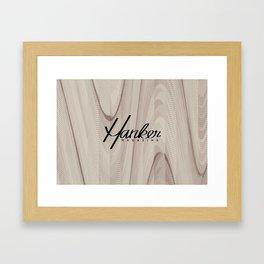 Hanker Magazine – Issue Five w/ Logo Framed Art Print