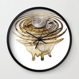 Liquefied clockwork Wall Clock