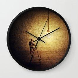 idea achievement Wall Clock
