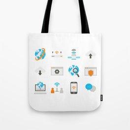 Internet Communication Tote Bag