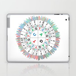 Sanger Codon Circle Laptop & iPad Skin