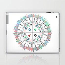 Sanger Codon Circle Laptop & iPad Skin