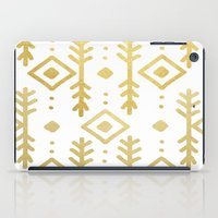 nordic iPad Cases featuring GOLD NORDIC by Nika