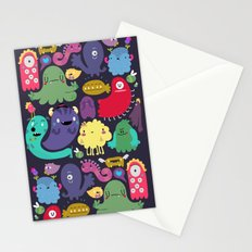Colorful creatures Stationery Cards