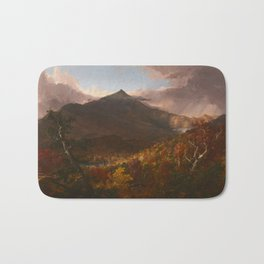 View of Schroon Mountain, Essex County, New York, After a Storm by Thomas Cole Bath Mat