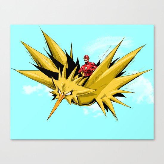 Flash-Dos Canvas Print