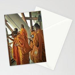 Hi-tech Monks Stationery Cards