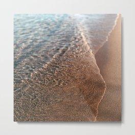 Sandy Metal Print
