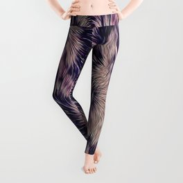 Warm fur texture Leggings