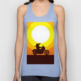 AND IVE GOT SUCH A LONG WAY TO GO TO GET IT TO THE BORDER OF MEXICO Unisex Tank Top