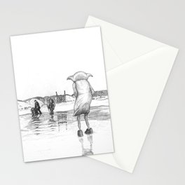 """""""Death of a Free Elf"""" - Dobby in Deathly Hallows Stationery Cards"""