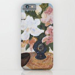 Peonies, Mandolin Painting iPhone Case