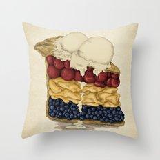 American Pie Throw Pillow