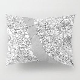 Liverpool Map Line Pillow Sham