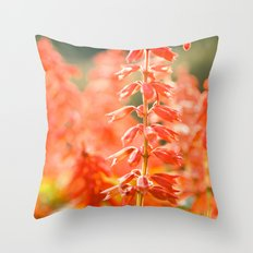 Basking in the Sun Throw Pillow