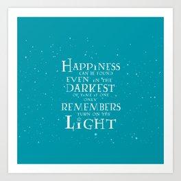 Happiness can be found... Kunstdrucke