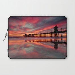 Huntington Beach Sunset  ~ 1/15 Laptop Sleeve
