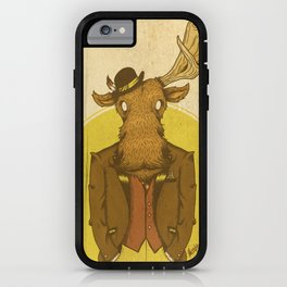 {Bosque Animal} Alce iPhone Case