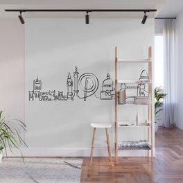 London Skyline Wall Mural