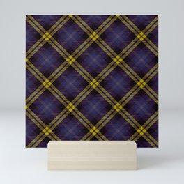 Scottish tartan #40 Mini Art Print