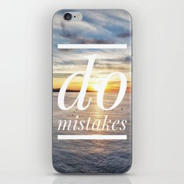 Motus Operandi Collection: Do mistakes iPhone Skin