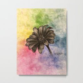 quick flower drawing/painting Metal Print