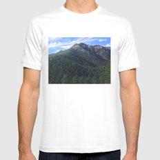Cheyenne Canyon Mens Fitted Tee MEDIUM White