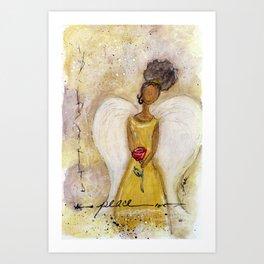 Angel of Peace 2 Art Print