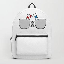 Cuphead & Mugman Crewneck Backpack