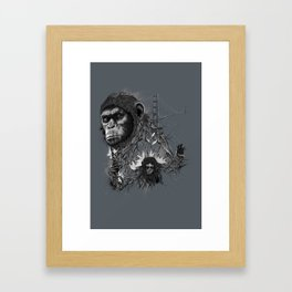 Caesar Framed Art Print
